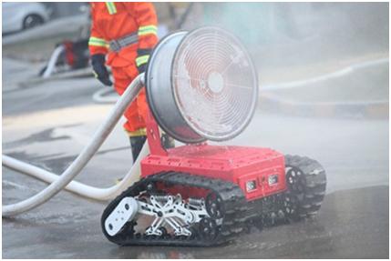 达生命探测仪 消防机器人荣获中国消防协会科学技术创新奖