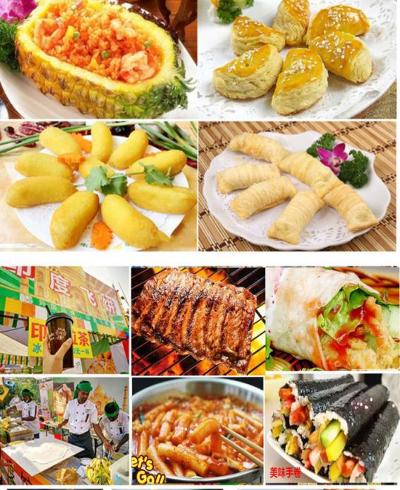 ·湖北站:武汉三鲜豆皮、热干