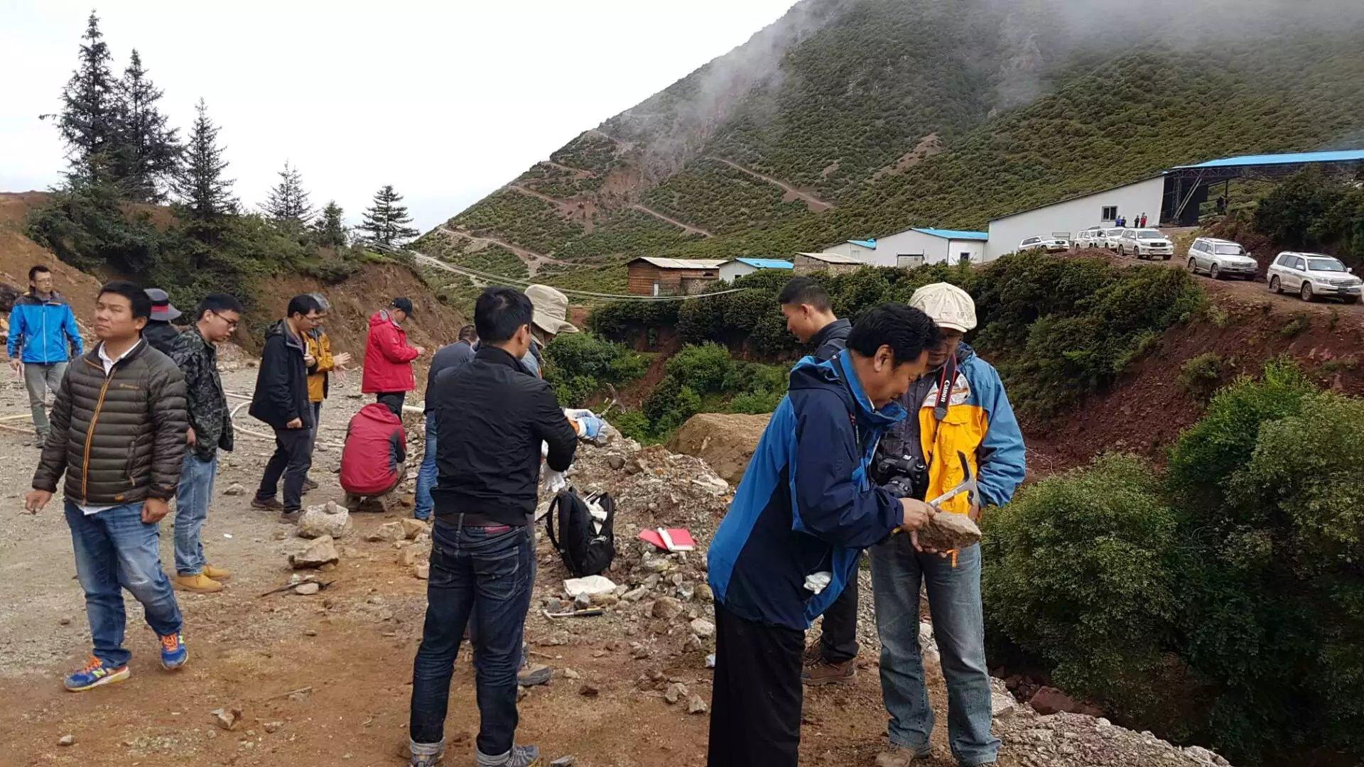 藏东地区芒康县发现首例特大型金矿